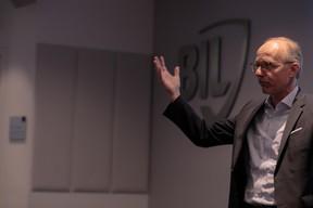 Luc Frieden (président du conseil d'administration de la Bil). ((Photo: Matic Zorman))