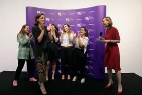 L'annonce du résultat, Stéphanie Jauquet est la Business Woman of the Year. ((Photo: Matic Zorman))