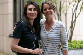 Aida Nazarikhorram (LuxAI) et Larissa Best (LBAN). ((Photo: Matic Zorman))