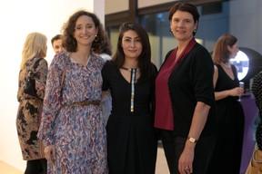 Marie-Adélaïde Leclercq-Olhagaray (Wide), Aida Nazarikhorram (LuxAI) et Vania Henry (UEL). ((Photo: Matic Zorman))