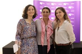 Marie-Adélaïde Leclercq-Olhagaray (Wide), Marina Andrieu (Wide) et Elfy Pins (Supermiro). ((Photo: Matic Zorman))