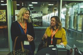 Fanny Mulder et Cathy Armando (RH Lab) ((Photo: Arthur Ranzy))