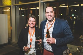 Anne Levy (Banque de Luxembourg) et Julien Bossu (CDCL) ((Photo: Arthur Ranzy))