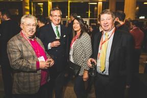 Jean Birgen (Instal), George M.Lentz Jr. (Brasserie Nationale), Anaïs Colchen (Car Avenue) et Robert Dennewald (Contern) ((Photo: Arthur Ranzy))