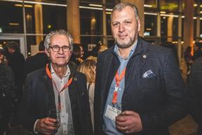 Denis Fellens (InterLycées) et Pietro Marchione (Groupe Marchione) ((Photo: Arthur Ranzy))
