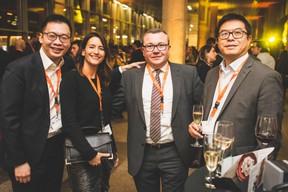 Ken Lim, Maria-Inès Schischlik, Eric Dejon et  Buu Huynh (ING) ((Photo: Arthur Ranzy))