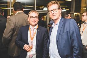 Daniel Hilbert (BDO Luxembourg) à gauche ((Photo: Arthur Ranzy))
