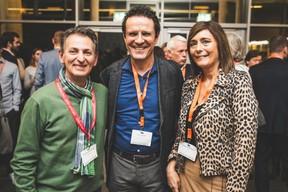 Salvatore Genovese (Genoways), Yves Lahaye et Josiane Veneziano (RBC) ((Photo: Arthur Ranzy))