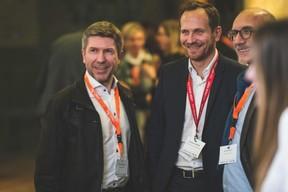 Marc François (Intermediatic), Stephane Compain (LuxRelo) et Eric Anselin (Île aux Clown) ((Photo: Arthur Ranzy))