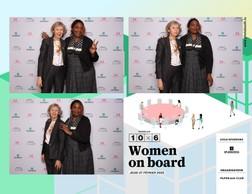 Eliane Fuchs (Femmes leaders Luxembourg) et Nicole Avez-nana (AB-Lux) ((Photo: photobooth.lu))