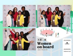 Megha Agrawal (Liroms), Annica Törneryd (Act2Exceed), Madhumalti Bharma (Workshop4me) et Irene Masiku (HappinesswithIrene) ((Photo: photobooth.lu))