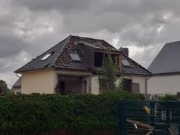 La tornade a ravagé un nombre important d'habitations. ((Photo: Paperjam))