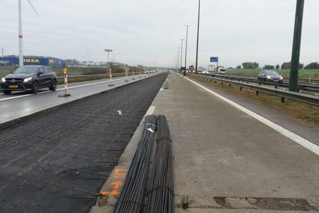 Les travaux sur l'E411 à Sterpenich se termineront fin avril. Mais d'autres chantiers sont prévus d'ici 2024, notamment à Habay. (Photo:Sofico)