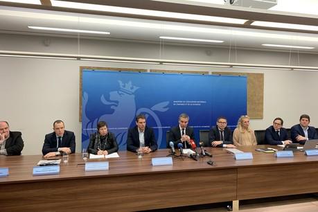 Le ministre de l'Éducation nationale, de l'Enfance et de la Jeunesse, ClaudeMeisch, a appelé à la solidarité nationale face à la gravité de la situation. (Photo: Maison Moderne)