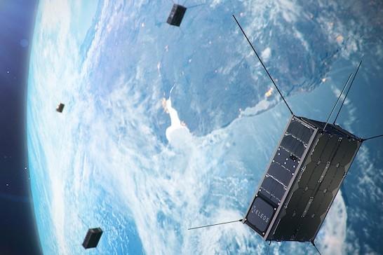 Les deux tranches de financement seront utilisées pour acquérir une nouvelle grappe de satellites, lancés l'an prochain. (Photo: Kleos Space)