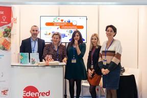 Au centre, Hanane El Maskini (Edenred) et Sylvie Dejardin (Edenred) à droite ((Photo: Romain Gamba))