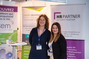 Natacha Beicht (HR Partner) et Florbela Silveira (The nxt stp) ((Photo: Romain Gamba))