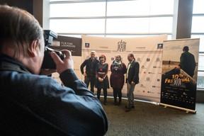 Bady Minck, réalisatrice, productrice, précurseur du cinéma au Luxembourg à gauche ((Photo: Nader Ghavami / Maison Moderne))