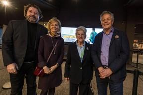 Guy Daleiden (directeur, Film Fund Luxembourg), Colette Flesch (présidente, Luxembourg City Film Festival), Jo Kox (ministère de la Culture) ((Photo: Nader Ghavami / Maison Moderne))