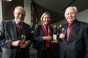 Anouk Agnès (ministère d'Etat) au centre, Jacques Santer ( à droite) ((Photo: Nader Ghavami / Maison Moderne))