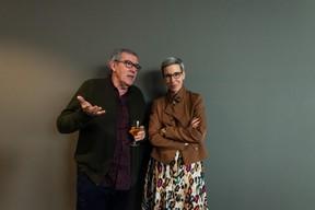 Robert Garcia et Sam Tanson (ministre de la Culture) ((Photo: Nader Ghavami / Maison Moderne))