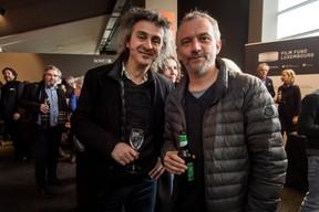 Donato Rotuno (Tarantula) à gauche ((Photo: Nader Ghavami / Maison Moderne))