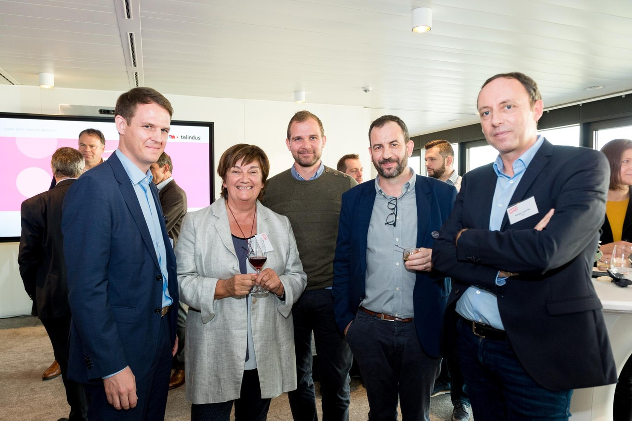 Paul Elvinger (Cebi), Michèle Detaille (Fedil) et Fabrice Hansen (Paul Wurth). (Photo: Marie De Decker)