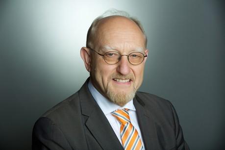 Heinrich Kreft, ambassadeur d'Allemagne au Luxembourg, livre ses souvenirs de l'Allemagne divisée puis réunifiée, à l'occasion des 30ans de la chute du Mur. (Photo: Ambassade d'Allemagne au Luxembourg)