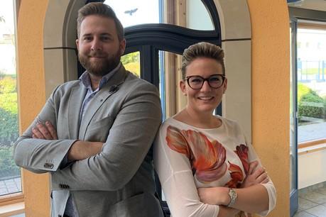 Sven Hilger et sa sœur Lynn se réjouissent de cette nouvelle opportunité. (Photo: Ost Fenster)