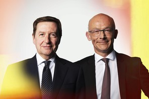 Yves Baguet,Chief operating officer, BIL &Frédérik Evrard,Country managing director, CGI Maison Moderne