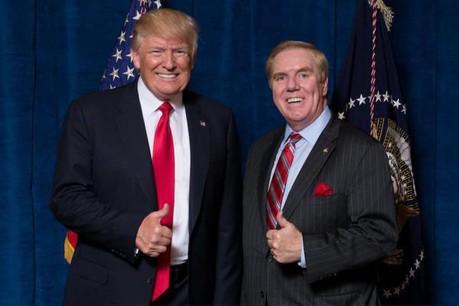 Randy Evans a été nommé par Donald Trump ambassadeur des États-Unis au Grand-Duché en septembre 2017, avant d'entrer officiellementen fonction en juin 2018. (Photo: Twitter/Randy Evans)