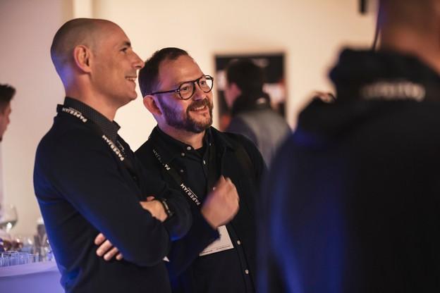 ArnaudMouriamé (à droite) – ici aux côtés deMathiasFritsch – prendra ses fonctions le 26 novembre. (Photo: Jan Hanrion /Archives Maison Moderne)