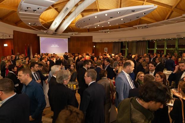 La Chambre des métiers a présenté ses vœux pour la nouvelle année, mardi 14 janvier. (Photo: Romain Gamba / Maison Moderne)