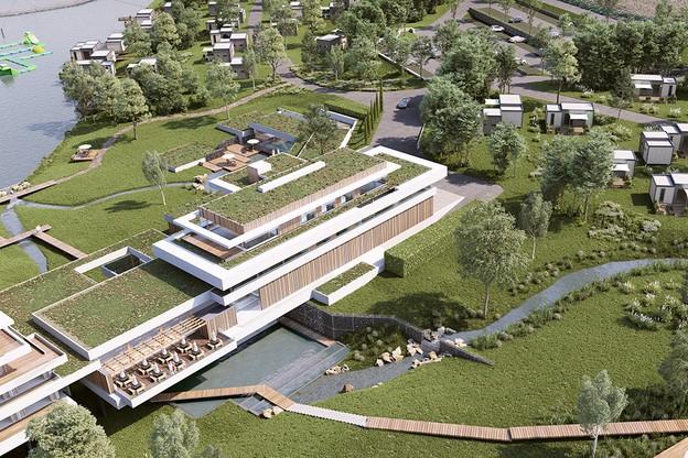 Le projet prévoit une capacité d'hébergement de 300 personnes. (Photo: Groupe Lamy)