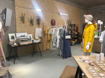 Cyrielle Révész s'est installée en décembre 2019 avec d'autres entrepreneurs dans un pop-up store. (Photo: Paperjam)