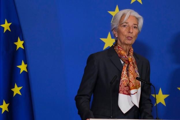 Christine Lagarde, présidente de la BCE, a annoncé vouloir user de tous les outils dont elle dispose pour faire face à la crise du Covid-19. (Photo: Shutterstock)