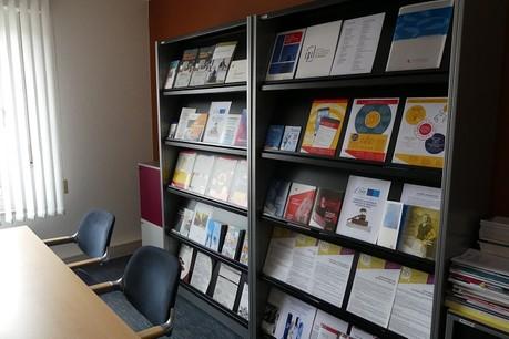 Bibliothèque dédiée à la Propriété Intellectuelle Credit : IPIL