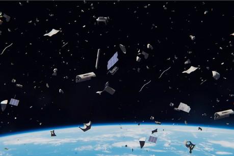 Les chiffres varient selon les sources. Selon l'Agence spatiale européenne, 8.400 tonnes de déchets tournent au-dessus de nos têtes. Un problème. (Photo: Shutterstock)