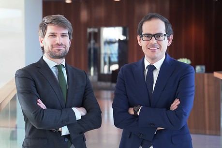 Adrian Grant, Tax Consultant andFernando Longares, Tax Partner, EY Luxembourg                    (Credit : EY Luxembourg )