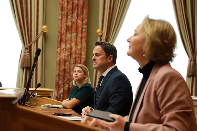 Le Premier ministre souhaite pouvoir faire entrer en vigueur rapidement des règlements grâce à l'état de crise. (Photo: Chambre des députés)