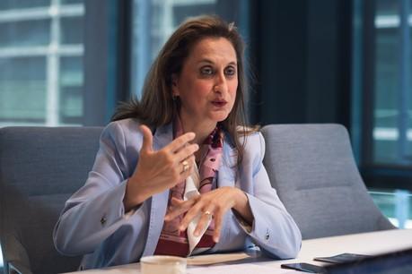 «Nous nous sommes toujours considérés comme des'intrapreneurs'au sein de laChambre de commerce», déclare Sabrina Sagramola, gérante de l'EEN à la Chambre de commerce. (Photo: Nader Ghavami)
