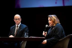 Thierry Raizer (Maison Moderne) et Nora Back (Présidente de l'OGBL) ((Photo: Patricia Pitsch))