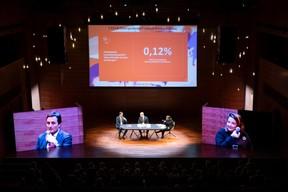 Nicolas Buck (Président de l'UEL), Thierry Raizer (Maison Moderne) et Nora Back (Présidente de l'OGBL) ((Photo: Patricia Pitsch))