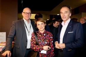 Jacques Brauch (Soludec) , Marie Lucas  (M3 architectes)  et Hugues Delcourt (Delcourt, Kim & Associates) ((Photo: Patricia Pitsch))