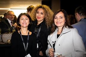 Geneviève Chabot (Pami Lux), Naouelle Tir (Prolingua) et Catherine Papp (Key-Way) ((Photo: Patricia Pitsch))