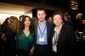 Norma Bello Cortes (JES'tudio) Mathias Guittet (Bureau Center)  et Gaétane Meilleur (AIBM) ((Photo: Patricia Pitsch))