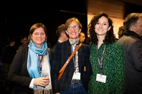 Sophie Lafleur (Mandeleo), Christianne Wickler (Pall Center Exploitation) et Marie-Adélaïde Leclercq-Olhagaray (Arendt & Medernach) ((Photo: Patricia Pitsch))