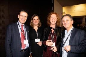 Yves Lahaye (RBC Investor & Treasury Services), Julie Noirhomme (Adecco Group),  Natacha Beicht-Claude (HR Partner) et Salvatore Genovese (Genoways) ((Photo: Patricia Pitsch))
