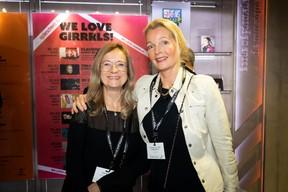 Edith Belso (EB Advisory Services) et Marianne Van Den Eerenbeemt (LivinLux) ((Photo: Patricia Pitsch))