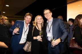 Marco Schalkwijk (Barco NV), Pascale Kraft (Medi-K) et Gerwin Teichert (Solum Real Estate) ((Photo: Patricia Pitsch))
